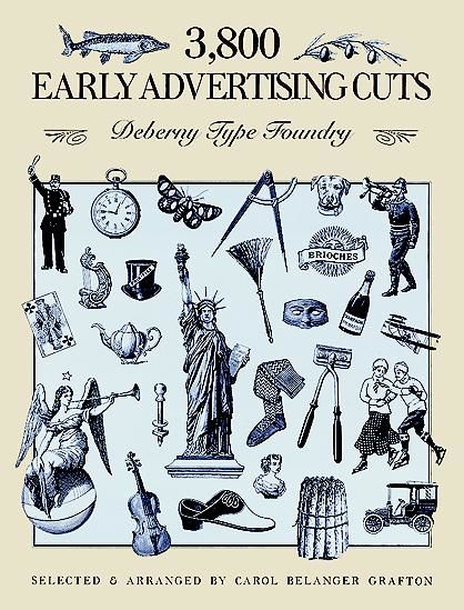 3,800 Early Advertising Cuts, Deberny Type Foundry