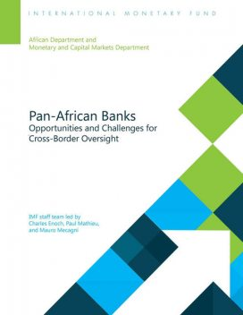 Pan-African Banking:Opportunities and Challenges for Cross-Border Oversight, Charles Enoch, Mauro Mecagni, Paul Mathieu