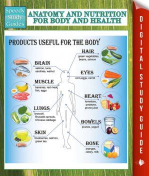 Anatomy And Nutrition For Body And Health (Speedy Study Guides), Speedy Publishing
