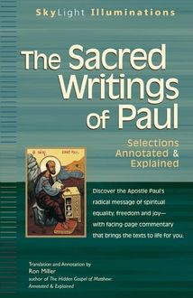 The Sacred Writings of Paul, Ron Miller