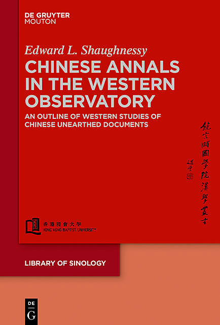 Chinese Annals in the Western Observatory, Edward Shaughnessy