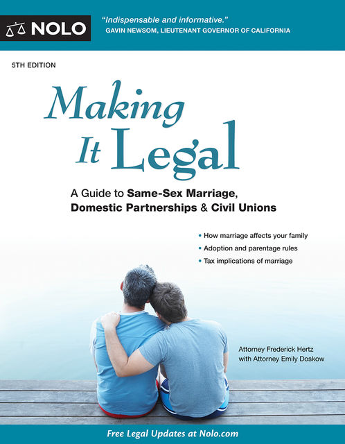 Making It Legal, Emily Doskow, Frederick Hertz