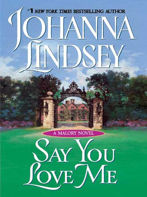 Say You Love Me, Johanna Lindsey