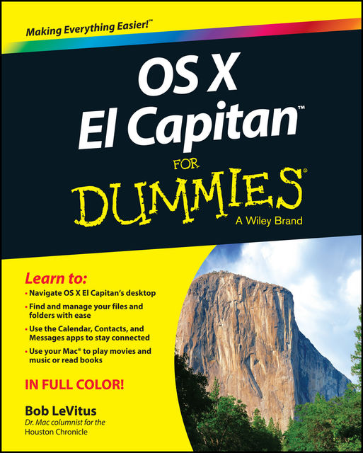 OS X El Capitan For Dummies, LeVitus