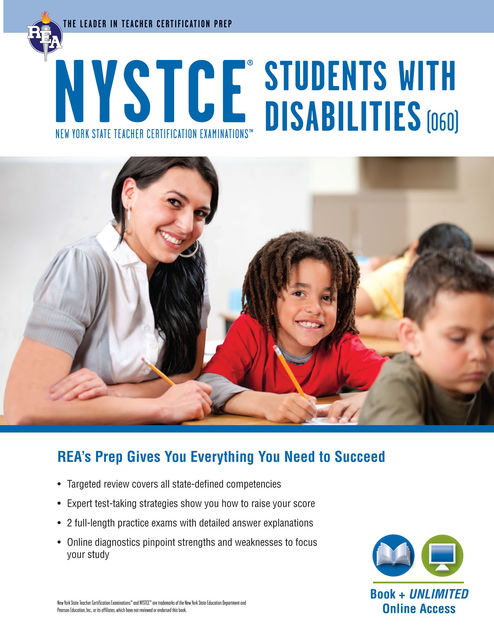 NYSTCE Students with Disabilities (060) Book + Online, Ken Springer, Ann Monroe Baillargeon, Michelle Chamblin