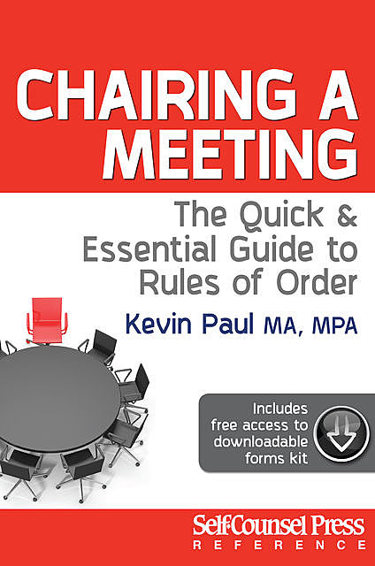 Chairing a Meeting, Kevin Paul