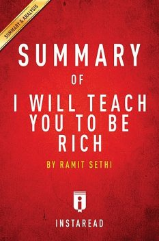Summary of I Will Teach You To Be Rich, Instaread
