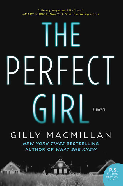The Perfect Girl, Gilly Macmillan