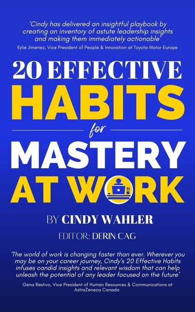 20 Effective Habits for Mastery at Work, Cindy Wahler
