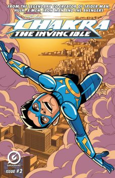 Stan Lee's Chakra The Invincible #2, Stan Lee, Aditya Bidikar, Pande Ashwin, Scott Peterson, Sharad Devarajan