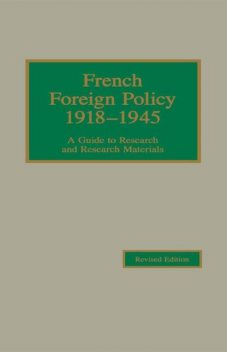 French Foreign Policy 1918–1945, Young