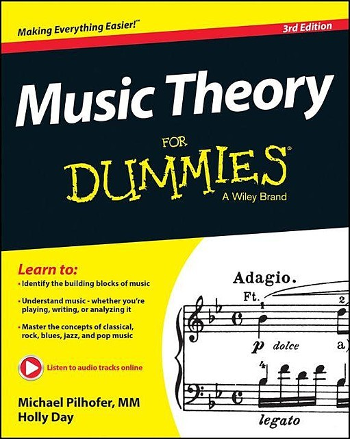 Music Theory For Dummies, Holly Day, Michael Pilhofer