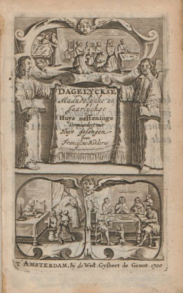 Dagelyckse huys-catechisatie, Franciscus Ridderus