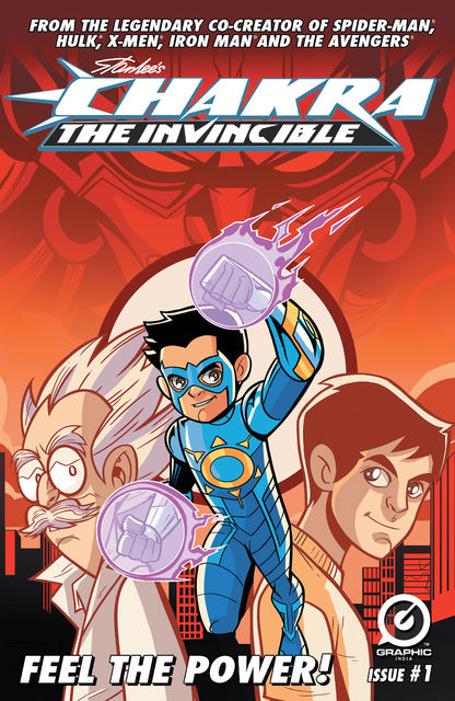 Stan Lee's Chakra The Invincible #1, Stan Lee, Aditya Bidikar, Pande Ashwin, Scott Peterson, Sharad Devarajan