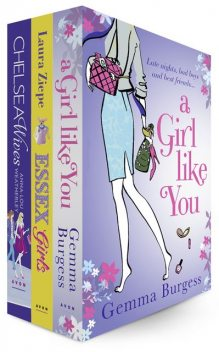 Girls Night Out 3 E-Book Bundle, Gemma Burgess, Anna Lou Weatherley, Ziepe