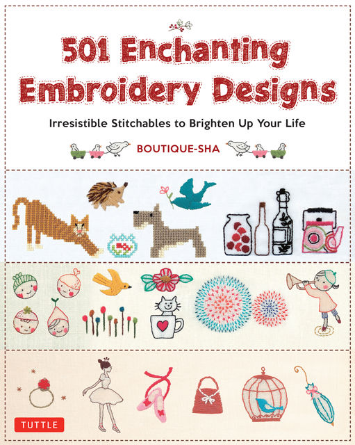 501 Enchanting Embroidery Designs, Boutique Sha