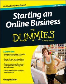 Starting an Online Business For Dummies, Greg Holden