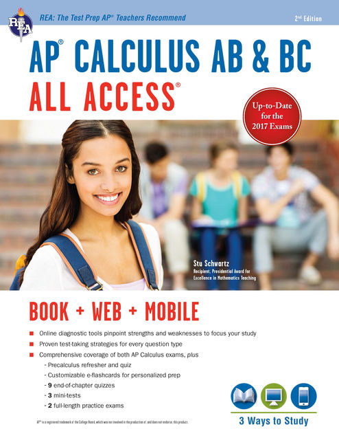 AP Calculus AB/BC All Access Book + Online + Mobile, Stu Schwartz