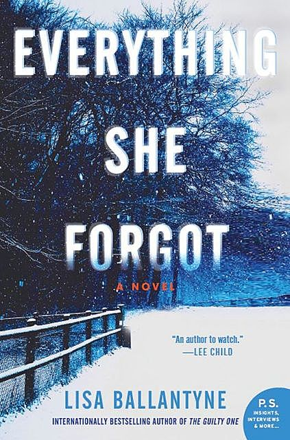 Everything She Forgot, Lisa Ballantyne