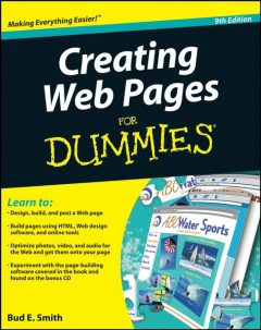 Creating Web Pages For Dummies, Bud Smith