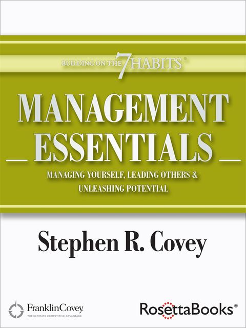 Management Essentials, Stephen Covey