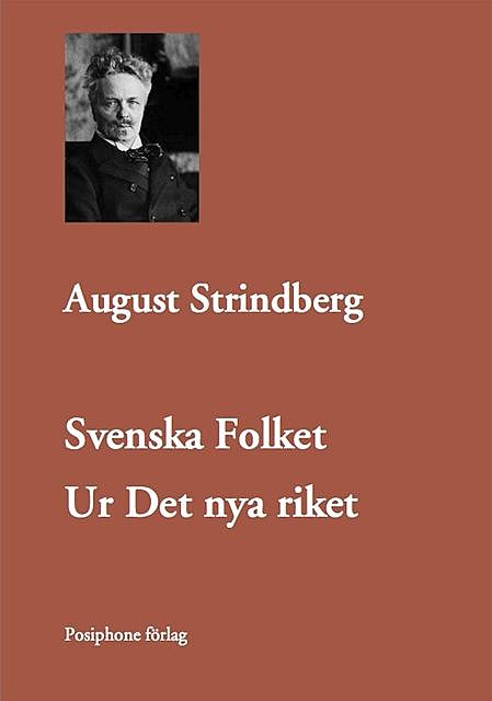 Svenska Folket, August Strindberg