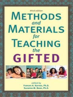 Methods and Materials for Teaching the Gifted, Frances A. Karnes