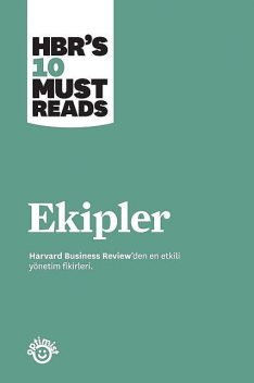 Ekipler, Harvard Business Review