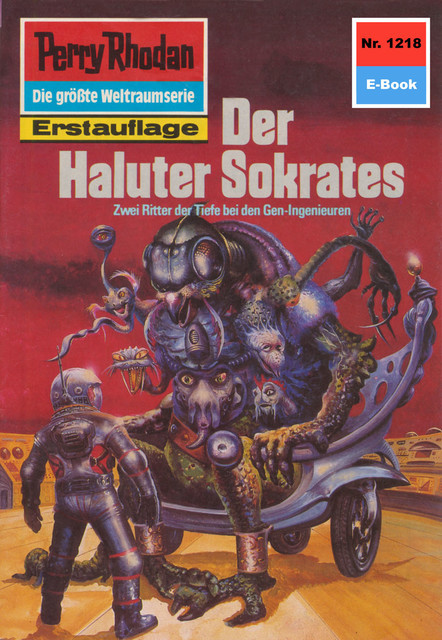 Perry Rhodan 1218: Der Haluter Sokrates, H.G. Francis