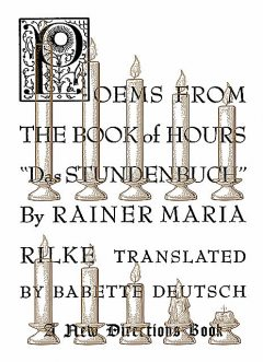 Poems from the Book of Hours, Rainer Maria Rilke