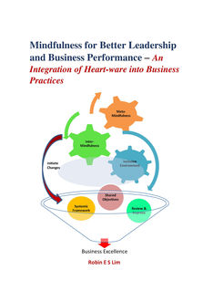 Mindfulness for Better Leadership and Business Performance, Robin E Lim