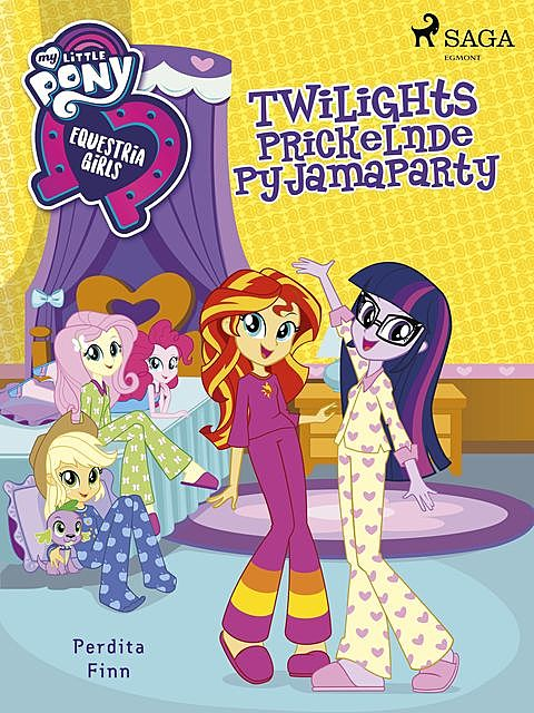 My Little Pony – Equestria Girls – Twilights Prickelnde Pyjamaparty, Perdita Finn