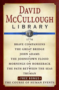 David McCullough Library E-book Box Set, David McCullough