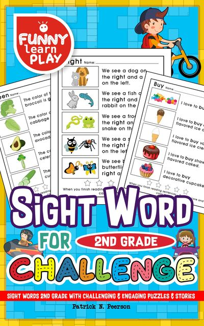Sight Words 2nd Grade, Patrick N. Peerson