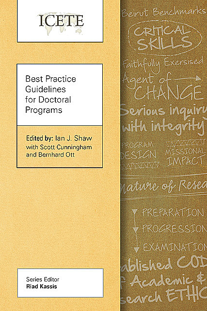 Best Practice Guidelines for Doctoral Programs, Ian Shaw