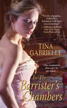 In the Barrister's Chambers, Tina Gabrielle
