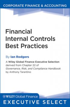 Financial Internal Controls Best Practices, Anthony Tarantino