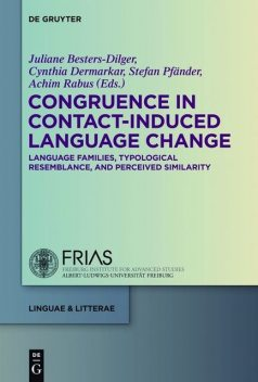 Congruence in Contact-Induced Language Change, Besters-Dilger, Achim Rabus, Cynthia Dermarkar, Juliane, Stefan Pfänder