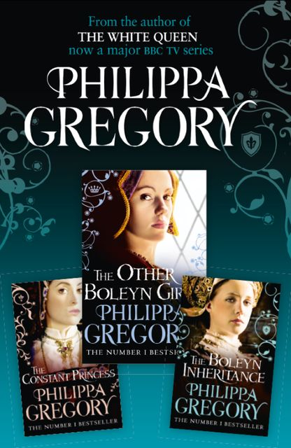 Philippa Gregory 3-Book Tudor Collection 1, Philippa Gregory