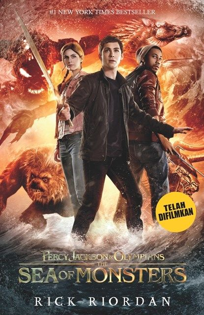 Percy Jackson & the Olympians – Lautan Monster, Rick Riordan