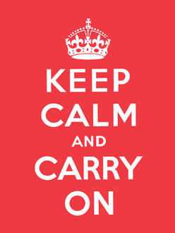 Keep Calm and Carry On, editor