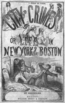 City Crimes / or Life in New York and Boston, George Thompson