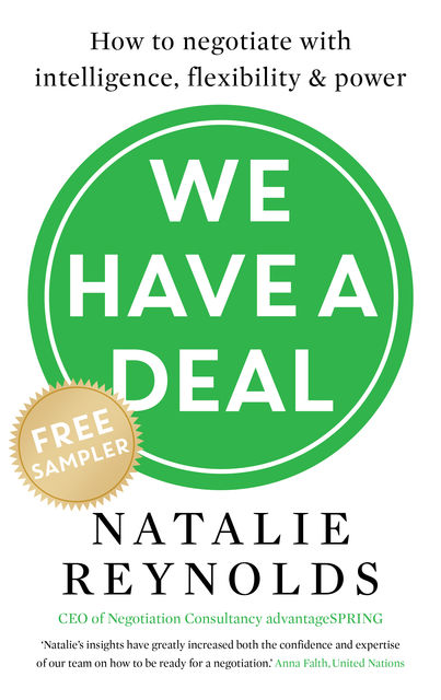 We Have a Deal – FREE SAMPLER, Natalie Reynolds