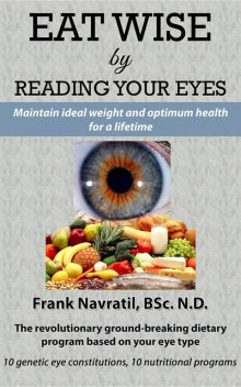 Eat Wise by Reading Your Eyes, Frank Navratil