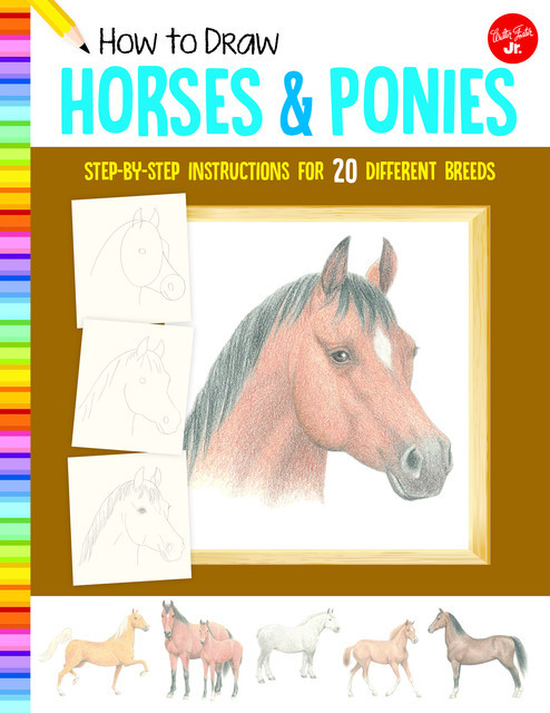 How to Draw Horses & Ponies, Russell Farrell