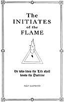 The Initiates of the Flame, Manly Palmer Hall