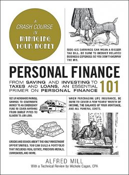 Personal Finance 101, CPA, Alfred Mill, Michele Cagan