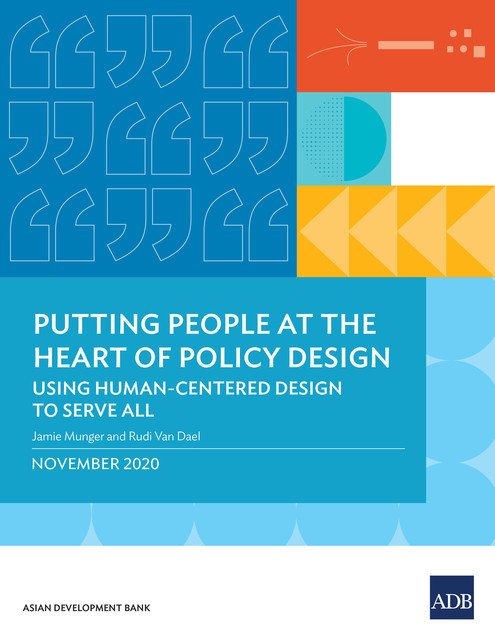 Putting People at the Heart of Policy Design, Jamie Munger, Rudi Van Dael