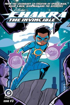 Stan Lee's Chakra The Invincible #3, Stan Lee, Pande Ashwin, Scott Peterson, Sharad Devarajan