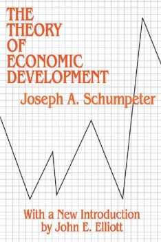 The Theory of Economic Development, JOSEPH A.SCHUMPETER